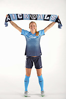 Belmar, NJ - Wednesday March 29, 2017: Nikki Stanton poses for photos at the Sky Blue FC team photo day.