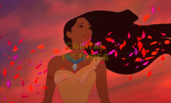 Pocahontas (voice of Irene Bedard).in Pocahontas .*Filmstill - Editorial Use Only*.CAP/NFS.Supplied by Capital Pictures.