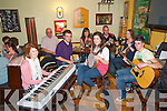 North Kerry Reaching Out Trad Session: Taking part in  the first North Kerry Reaching Out Trad session at the Saddle Bar, Listowel were musicians Melissa O'Riorda, Johnny McElligott, James Dillon, Katie Lucey, Danielle O'Riordan, John Neville, Joan Lane & Daniel Costello.