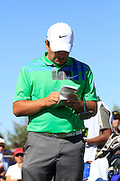Francesco Molinari (ITA) prepares to tee off on the 10th tee during Sunday's Final Round of the Bankia Madrid Masters at El Encin Golf Hotel, Madrid, Spain, 9th October 2011 (Photo Eoin Clarke/www.golffile.ie)