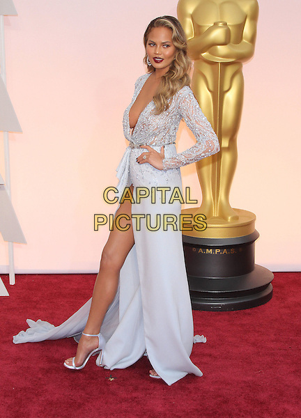 22 February 2015 - Hollywood, California - Chrissy Teigen. 87th Annual Academy Awards presented by the Academy of Motion Picture Arts and Sciences held at the Dolby Theatre. <br /> CAP/ADM<br /> &copy;AdMedia/Capital Pictures Oscars