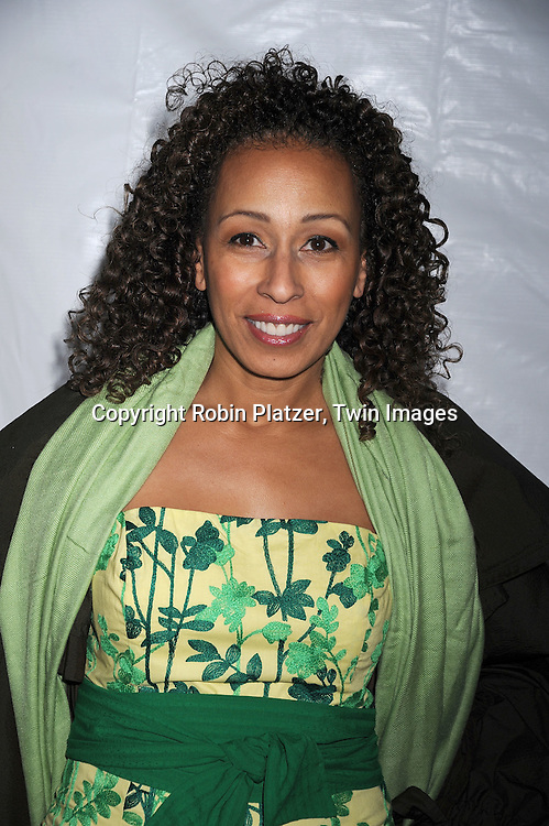 Tamara Tunie..posing for photographers at The NBC Universal Experience of their Fall 2008-2009 schedule on May 12, 2008 at Rockefeller Center. Stars from NBC, USA, Bravo, Scifi, Oxygen, Telemundo and mun2 were there. ....Robin Platzer, Twin Images