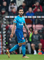 Theo Walcott of Arsenal during the Premier League match between Bournemouth and Arsenal at the Goldsands Stadium, Bournemouth, England on 14 January 2018. Photo by Andy Rowland.