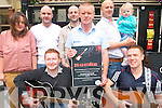 A fundraising live music event will take place this weekend at Turners Lodge to raise funds for the Lebanon Trust. .Back L-R Stacey Conway, Brian O'Toole MC, Keith Fitzgerald, Noel Conway, Aidan Turner and Amiee Turner. .Front L-R Andrew Hobbert and Dave O'Leary.