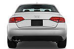 Straight rear view of a 2011 Audi A4 Sedan