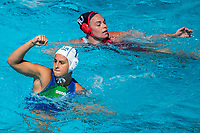 PICOZZI Domitilla ITA<br /> ITA (white cap) -  CAN (blue cap)<br /> Water Polo<br /> Day03  16/07/2017 <br /> XVII FINA World Championships Aquatics<br /> Alfred Hajos Complex Margaret Island  <br /> Budapest Hungary July 15th - 30th 2017 <br /> Photo @ Deepbluemedia/Insidefoto
