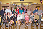 "60TH BIRTHDAY: James Bowler, Chutehall, Tralee enjoying a great time celebrating his 60th birthday with family and friends at Stokers Lodge restaurant and bar, Tralee on Saturday seated l-r: Martina O'Sullivan, Jamie Balec, Caroline O""Mahoney, Elerena Leslie, Kathleen Harty, James, Marian, Sheila and Pat  Bowler. Back l-r: John Lyons, Kieran McCarthy, Brian and Teresa Madden, Mike O'Sullivan, Mike Bowler, P J O'Mahoney, Brendan Harty, John Surgue, Kevin Leslie and Cal Galvin."