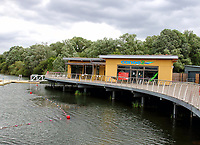 Rushden Lakes is a major shopping and leisure complex in Northamptonshire. It first opened in 2017 and work on further retail and leisure units is ongoing including a Cineworld cinema which opened in 2019. July 9th 2020<br /> <br /> Photo by Keith Mayhew