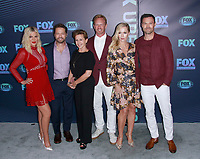 NEW YORK, NY - MAY 13: Tori Spelling, Jason Priestley, Gabrielle Carteris, Ian Ziering, Jennie Garth and Brian Austin Green at the FOX 2019 Upfront at Wollman Rink in Central Park, New York City on May 13, 2019. <br /> CAP/MPI99<br /> ©MPI99/Capital Pictures
