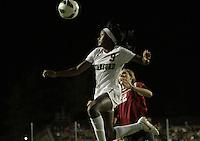 Santa Clara, CA - September 22, 2013:  Chioma Ubogagu during Stanford's 3-2 double overtime victory over Santa Clara at Buck Shaw Stadium, Santa Clara.