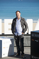 Actor Ander Lipus poses during `Amama´ film presenation at 63rd Donostia Zinemaldia (San Sebastian International Film Festival) in San Sebastian, Spain. September 21, 2015. (ALTERPHOTOS/Victor Blanco) /NortePhoto.com