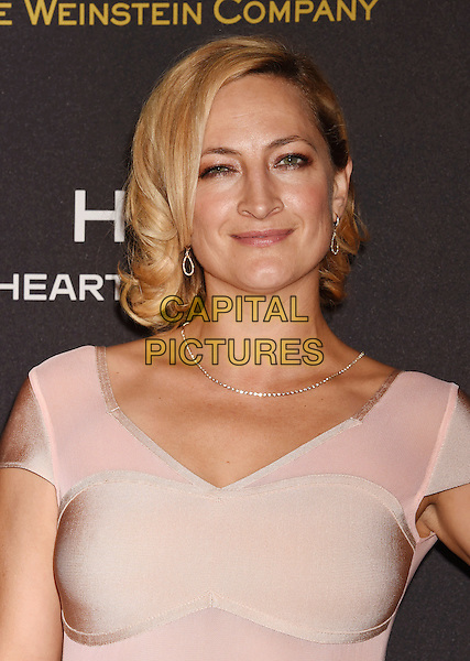 BEVERLY HILLS, CA - JANUARY 10: Actress Zoe Bell attends The Weinstein Company and Netflix Golden Globe Party, presented with DeLeon Tequila, Laura Mercier, Lindt Chocolate, Marie Claire and Hearts On Fire at The Beverly Hilton Hotel on January 10, 2016 in Beverly Hills, California.<br /> CAP/ROT/TM<br /> &copy;TM/ROT/Capital Pictures