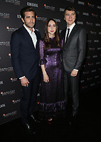 04 November 2018 - Los Angeles, California - Jake Gyllenhaal, Zoe Kazan and Paul Dano. 10th Hamilton Behind the Camera Awards hosted by Los Angeles Confidential at Exchange LA. <br /> CAP/ADM/FS<br /> &copy;FS/ADM/Capital Pictures