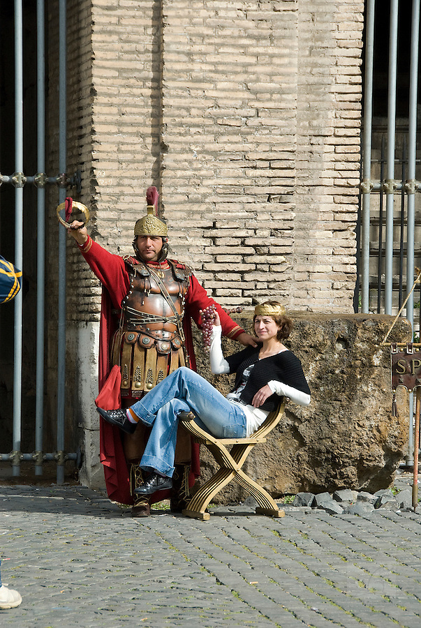 roman players in rome, italy