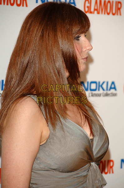 CATHERINE TATE .Inside Arrivals at Glamour magazine's 4th Annual Woman of the Year Awards, held at Berkley Square Gardens, London, England, 5th June 2007..portrait headshot fringe profile.Ref: CAP/PL.©Phil Loftus/Capital Pictures