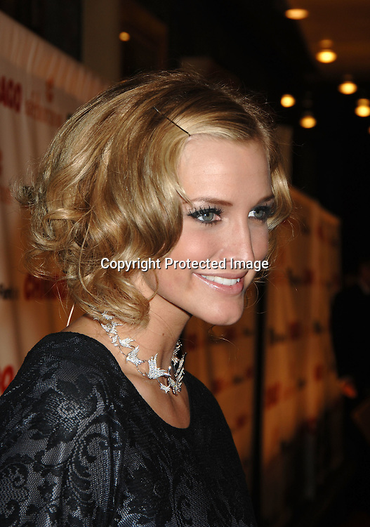 "Ashlee Simpson..arriving at The 10th Anniversary of ""Chicago"" on November 14, 2006 at The Ambassador Theatre in New York. ..Photos by Robin Platzer, Twin Images"