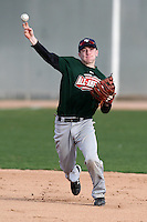 January 17, 2010:  Nick Moore (Downers Grove, IL) of the Baseball Factory Central Team during the 2010 Under Armour Pre-Season All-America Tournament at Kino Sports Complex in Tucson, AZ.  Photo By Mike Janes/Four Seam Images