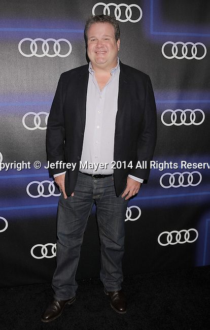 LOS ANGELES, CA- AUGUST 21: Actor Eric Stonestreet arrives at the Audi Emmy Week Celebration at Cecconi's Restaurant on August 21, 2014 in Los Angeles, California.