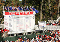 30 SEP 12  The 39th Ryder Cup at The Medinah Country Club in Medinah, Illinois.                                          (photo:  kenneth e.dennis / kendennisphoto.com)