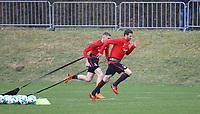 David Abraham (Eintracht Frankfurt) - 04.04.2018: Eintracht Frankfurt Training, Commerzbank Arena