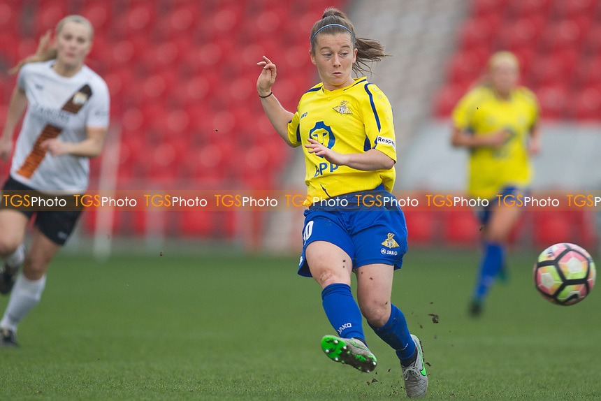 Christie Murray of Belles during Doncaster Rovers Belles vs London Bees, FA Women's Super League FA WSL2 Football at the Keepmoat Stadium on 12th March 2017