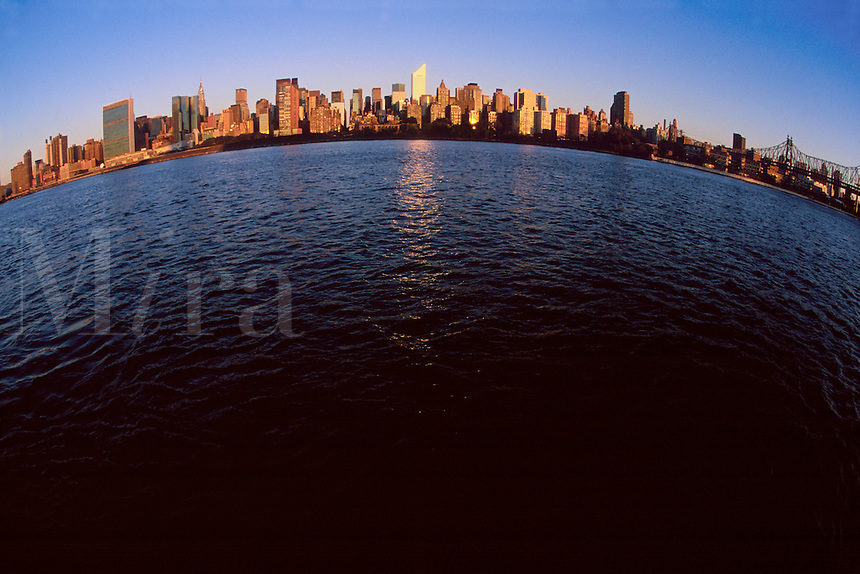 """#JP0828 """"Citicorp Tower In Skyline #2 - New York NY"""