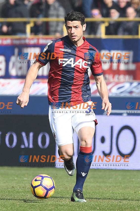 Blerim Dzemaili <br /> Bologna 19-02-2017 Stadio Dall'Ara Football Calcio Serie A 2016/2017 Chievo Bologna - Inter. Foto Image Sport / Insidefoto