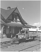 RGS Goose #6 southbound at Dolores.<br /> RGS  Dolores, CO  Taken by Beck, John G. - 8/30/1951