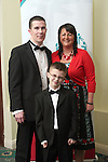 Damien, Majella and Dylan McKenna at the Special Olympics Gala Ball in The Boyne Valley Hotel...Photo NEWSFILE/Jenny Matthews.(Photo credit should read Jenny Matthews/NEWSFILE)....This Picture has been sent you under the condtions enclosed by:.Newsfile Ltd..The Studio,.Millmount Abbey,.Drogheda,.Co Meath..Ireland..Tel: +353(0)41-9871240.Fax: +353(0)41-9871260.GSM: +353(0)86-2500958.email: pictures@newsfile.ie.www.newsfile.ie.FTP: 193.120.102.198.