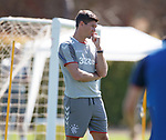 24.06.2019 Rangers training in Algarve: Steven Gerrard