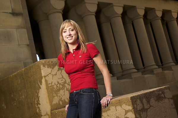 Stanford transfer student, Katie Swanson