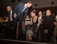 Michael Fassbender &amp; Alicia Vikander at the premiere of The Lights Between Oceans at the 2016 Venice Film Festival.<br /> September 1, 2016  Venice, Italy<br /> Picture: Kristina Afanasyeva / Featureflash