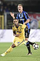 Bergamo 01-10-2017 Stadio Atleti Azzurri d'Italia Football Serie A 2017/2018 Atalanta - Juventus foto Daniele Buffa/Image Sport/Insidefoto <br /> nella foto: Andreas Cornelius-Mehdi Benatia