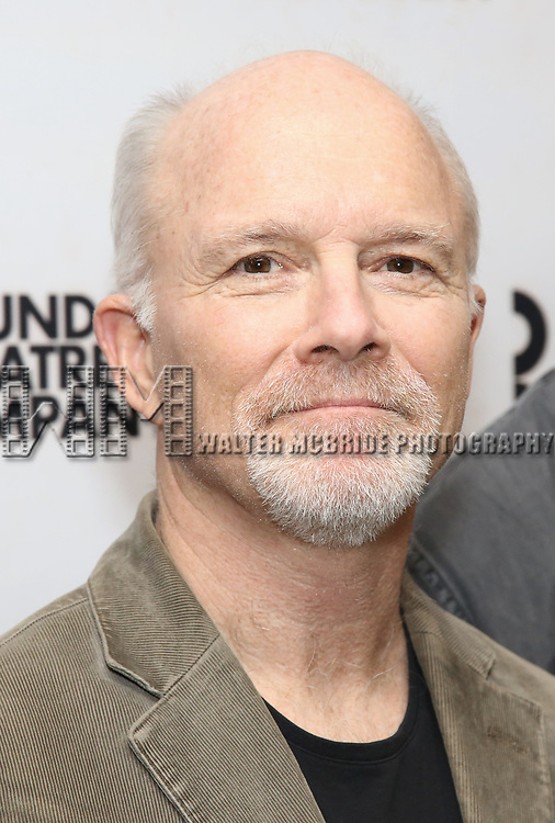 """Dan Butler attends the """"Travesties"""" Meets The Press on March 6, 2018 at the Roundabout Theatre in New York City."""