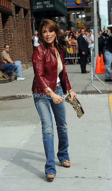 WWW.ACEPIXS.COM . . . . .  ....June 4 2009, New York City....TV personality Paula Abdul arriving at the 'Late Show with David Letterman' at the Ed Sullivan Theatre on June 4 2009 in New York City....Please byline: KRISTIN CALLAHAN - ACE PICTURES.... *** ***..Ace Pictures, Inc:  ..tel: (212) 243 8787 or (646) 769 0430..e-mail: info@acepixs.com..web: http://www.acepixs.com