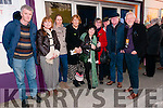 Daniel Kavanagh (Ventry), Joan Ní Chiobhain, Lone O'Reilly (Ballyferriter), Maria Simmonds - Gooding (Dún Chaoin), Brenda Ní Shúilleabhain (Ventry), Pat Owen, Prof John Foster, Tomas Ó Ciobhain and Tony Owen (Ballyferriter) enjoying the Dingle Film Festival over the weekend.