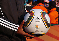Each match ball is specially monogramed for the specific match in which it is to be used. The United States won Group C of the 2010 FIFA World Cup in dramatic fashion, 1-0, over Algeria in Pretoria's Loftus Versfeld Stadium, Wednesday, June 23rd..