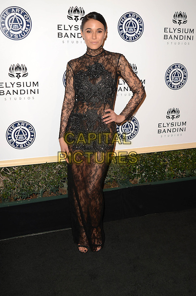 LOS ANGELES, CA - JANUARY 7: Emmanuelle Chriqui at the The Art Of Elysium Tenth Annual Celebration 'Heaven' Charity Gala at Red Studios in Los Angeles, California on January 7, 2017. <br /> CAP/MPI/DE<br /> &copy;DE/MPI/Capital Pictures