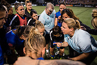 Seattle, WA - Wednesday, June 28, 2017: Seattle Reign FC during a regular season National Women's Soccer League (NWSL) match between the Seattle Reign FC and the Chicago Red Stars at Memorial Stadium.