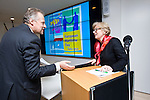 Brussels - BELGIUM - 18 November 2015 -- European Maritime Day in Turku, Finland --Information Meeting for Maritime Stakeholders.  -- Haitze Siemers, Head of Unit, DG MARE with Pilvi-Sisko Vierros-Villeneuve, Ambassador, Permanent Representative of Finland to the EU. -- PHOTO: Juha ROININEN / EUP-IMAGES
