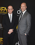 Christopher Markus and Stephen McFeely  139 arrives at the 23rd Annual Hollywood Film Awards at The Beverly Hilton Hotel on November 03, 2019 in Beverly Hills, California