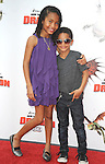 UNIVERSAL CITY, CA. - March 21: Yara Shahidi and Sayheed Shahidi arrive at the premiere of ''How To Train Your Dragon'' at Gibson Amphitheater on March 21, 2010 in Universal City, California.