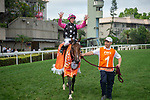 SHA TIN, HONG KONG – APRIL 25: Beauty Generatiion at trackwork on April 25 at Sha Tin Race Course in Hong Kong before starting in the FWD Champions Mile. Michael McInally/Eclipse Sportswire/CSM