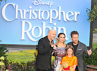 Marc Forster, Hayley Atwell, Bronte Carmichael and Ewan McGregor at the &quot;Christopher Robin&quot; European film premiere, BFI Southbank, Belvedere Road, London, England, UK, on Sunday 05 August 2018.<br /> CAP/CAN<br /> &copy;CAN/Capital Pictures