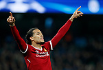 Liverpool's Virgil Van Dijk in action during the Champions League Quarter Final 2nd Leg match at the Etihad Stadium, Manchester. Picture date: 10th April 2018. Picture credit should read: David Klein/Sportimage