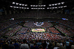 31 MAR 2012:  The University of Kentucky plays the University of Louisville during the Semifinal Game of the 2012 NCAA Men's Division I Basketball Championship Final Four held at the Mercedes-Benz Superdome hosted by Tulane University in New Orleans, LA. Joshua Duplechian/ NCAA Photos