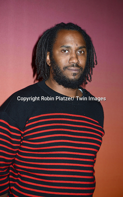 Rashid Johnson attends the 2013 Whitney Gala & Studio party honoring artist Ed Ruscha on October 23, 2013 at Skylight at Moynihan Station in New York City.