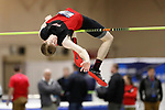 NAPERVILLE, IL - MARCH 11: Robert Eason of Rhodes College competes in the men's high jump at the Division III Men's and Women's Indoor Track and Field Championship held at the Res/Rec Center on the North Central College campus on March 11, 2017 in Naperville, Illinois. (Photo by Steve Woltmann/NCAA Photos via Getty Images)
