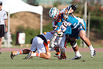 Philadelphia Barrage vs Los Angeles Riptide.Home Depot Center, Carson California.Anthony Kelly (#34) and Jason Motta (#21).506P9018.JPG.CREDIT: Dirk Dewachter