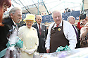 Britain's Queen Elizabeth II and the Duke of Edinburgh tours St.Georges Market in Belfast, Tuesday June 24th, 2014. The Queen is on a 3 day tour of Northern Ireland. Photo/Paul McErlane